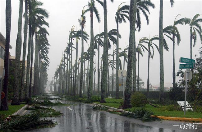 美国历史上十大飓风 每一场飓风都是无情的灾难