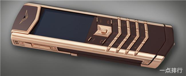 世界最昂贵的手机 猎鹰粉红钻石IPHONE6售价9550万美元