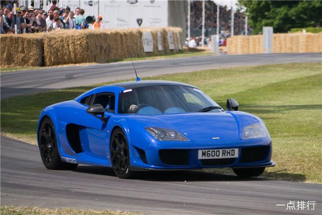 世界上最快的十辆车 轩尼诗毒液GT只能排第二