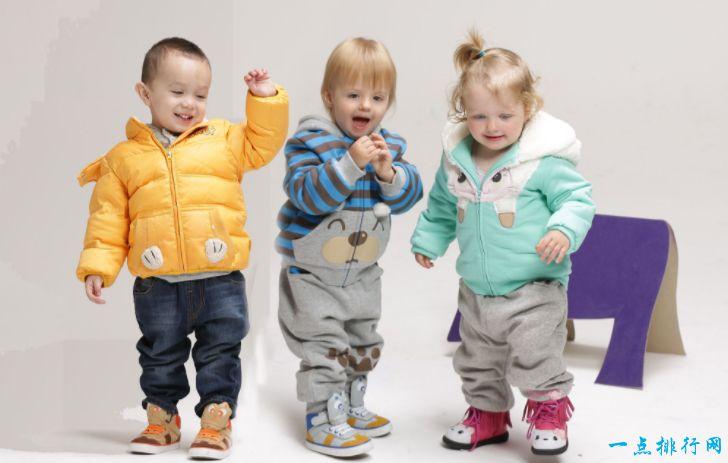 中国十大童装知名品牌排行榜 最受孩子喜爱的品牌