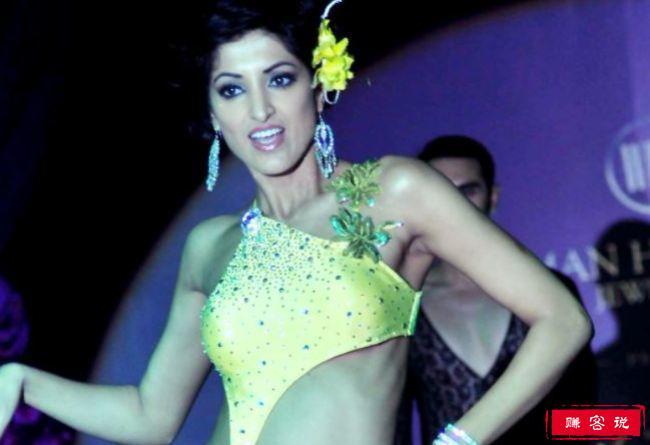 印度十大热门模特 性感身姿让人沉迷!