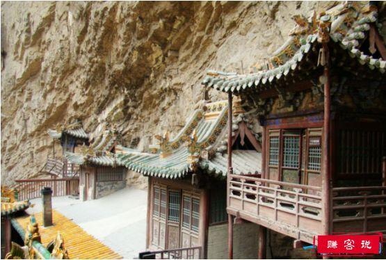 世界上最危险的寺庙,恒山悬空寺立于悬崖峭壁间