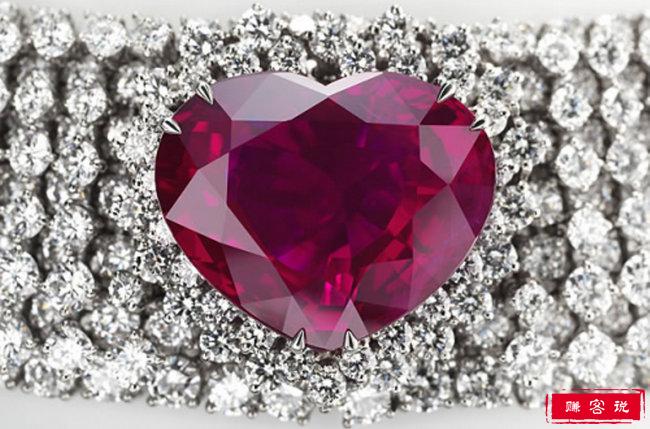 世界十大最昂贵的钻石首饰 排名第一的粉红之星价值8301万美元