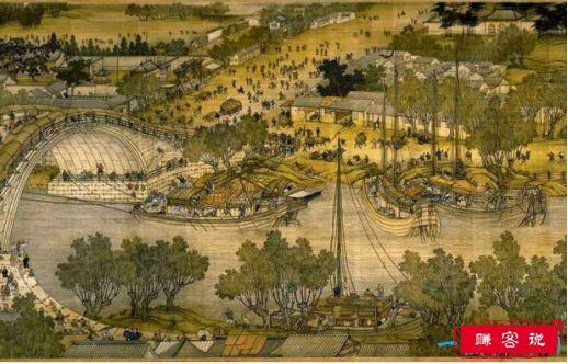 中国十大传世名画 清明上河图无价之宝