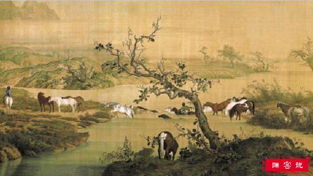 中国十大传世古画 每幅都是中华文明的纪录者