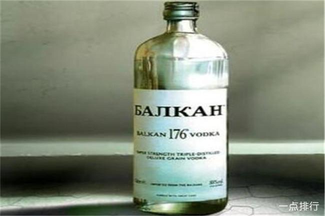 保加利亚巴尔干伏特加