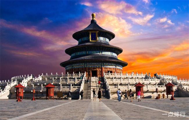 北京十大著名景点排行榜 北京十大必游景点推荐