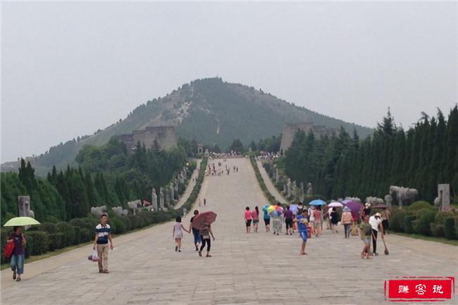 唐乾陵,中国