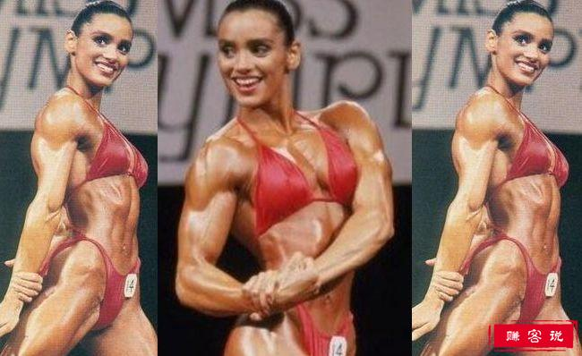 世界十大热门女性健美运动员 比男人还强壮的女性