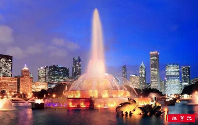 世界十大知名喷泉 月光彩虹喷泉耗资200亿美元