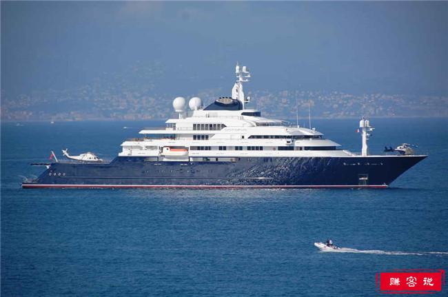 世界上最昂贵的游艇 价值5亿的日蚀号才排第三
