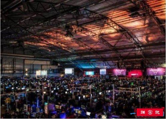世界上最大的网吧,瑞典网吧内2万人同时开黑