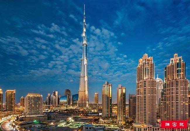世界上最高的建筑2018 哈利法塔高828米
