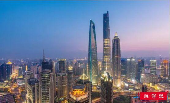 中国第一高楼,上海中心大厦高达632米