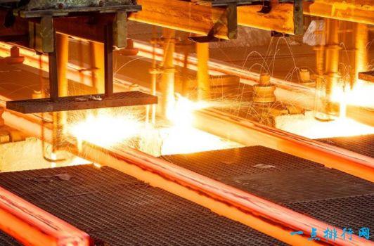 世界钢铁产量排名 中国居榜首