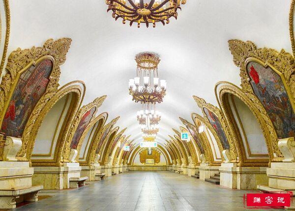 世界上最华丽的地铁站 运行至今80多年如同皇宫