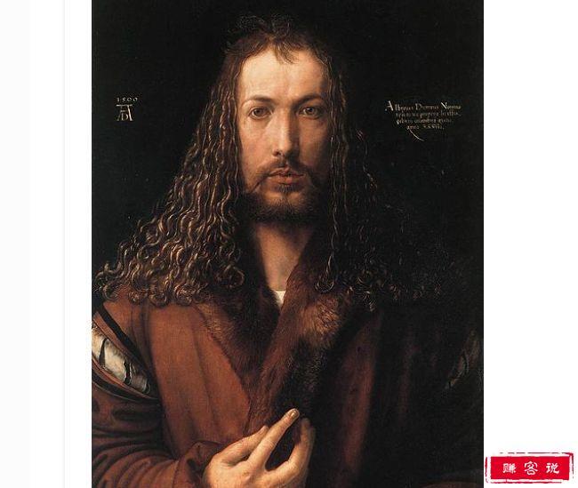 世界著名画家的10幅自画像 艺术史上最重要的自画像