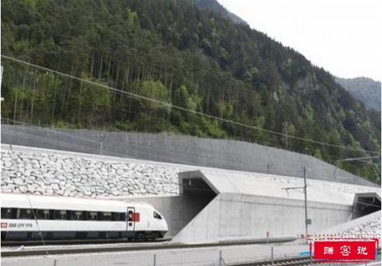 世界上最长隧道通车,圣哥达基线隧道穿越阿尔卑斯山约17分钟