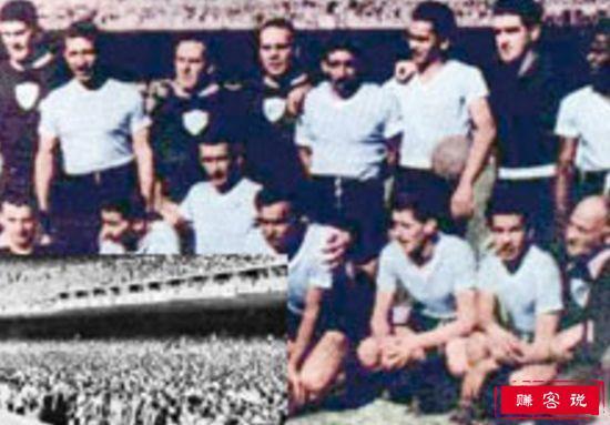 乌拉圭8-0玻利维亚(1950)