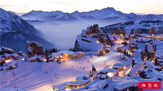 世界十大滑雪胜地 奥地利圣安东滑雪场最受欢迎