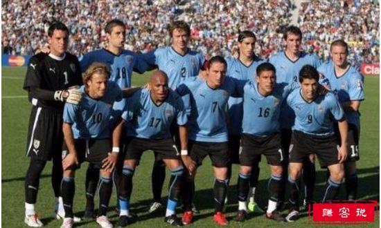 乌拉圭7-0苏格兰(1954)