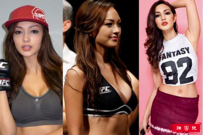 UFC最美举牌女郎 丰胸翘臀令人垂涎