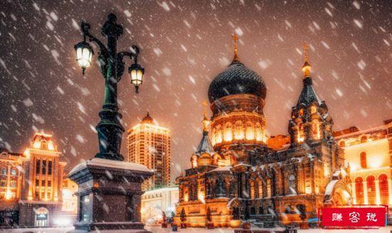 远东地区最大的东正教堂,圣·索菲亚教堂曾遭严重破坏(现已修复)