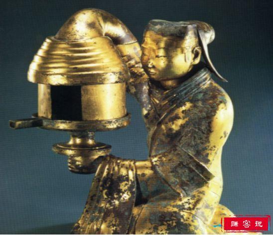 中华第一灯长信宫灯 穿越两千年的环保理念