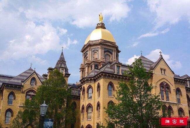 2018年美国圣母大学世界排名 留学费用