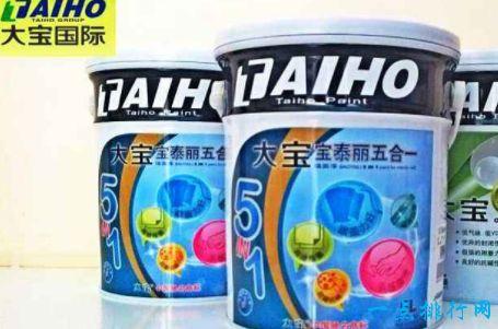 乳胶漆十大品牌 立邦排第一