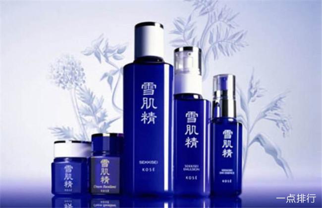 日本十大化妆品品牌排名 日本最好用的化妆品品牌大全