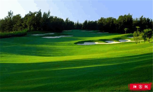 世界上最大的高尔夫球场 居然在中国