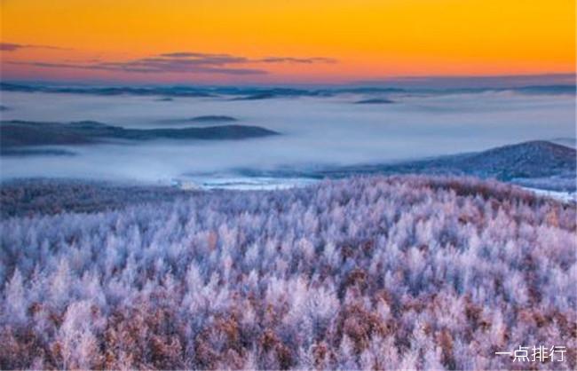 中国最冷的地方排名 根河市最低气温曾达到零下58℃