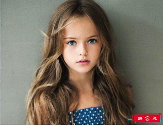 世界上年龄最小的国际超模 克里斯廷娜·碧曼诺娃4岁就出道
