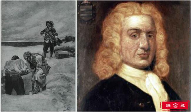 """人类历史上十大海盗 第一位被称作""""海盗绅士"""""""