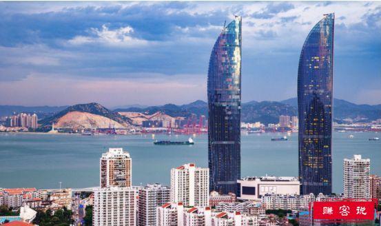 中国第一双子塔,厦门双子塔高达300米(厦门第一高楼)