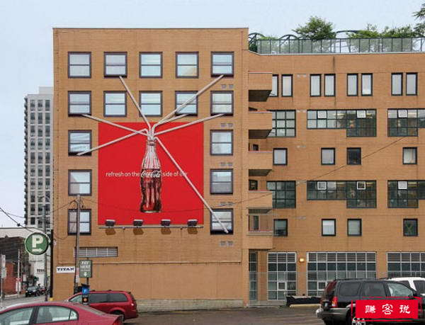 全球十大创意建筑广告 全球最有创意的户外建筑广告