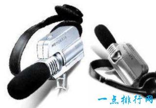 十大间谍装备 仿生耳声放大器能放大50分贝的声音