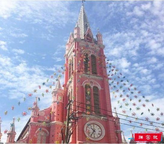 世界上最浪漫的教堂,拥有少女粉的耶稣圣心堂