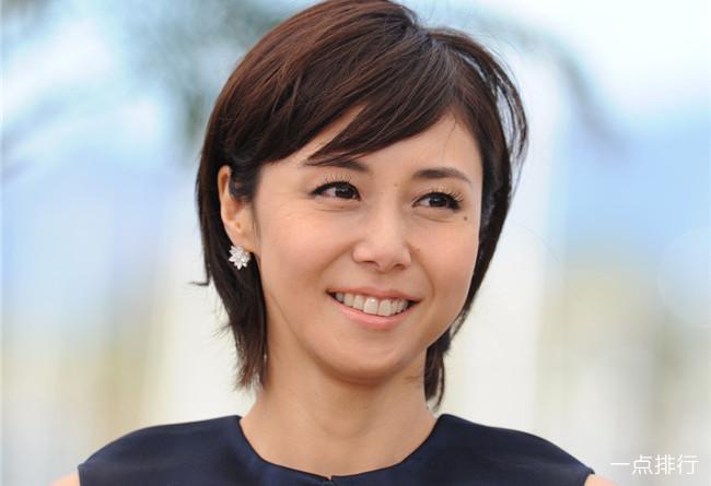 十大最美丽的日本名人 小泽玛利亚排第三