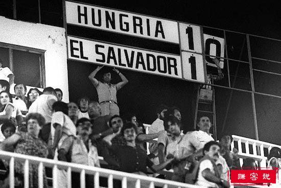 匈牙利10-1萨尔瓦多(1982)