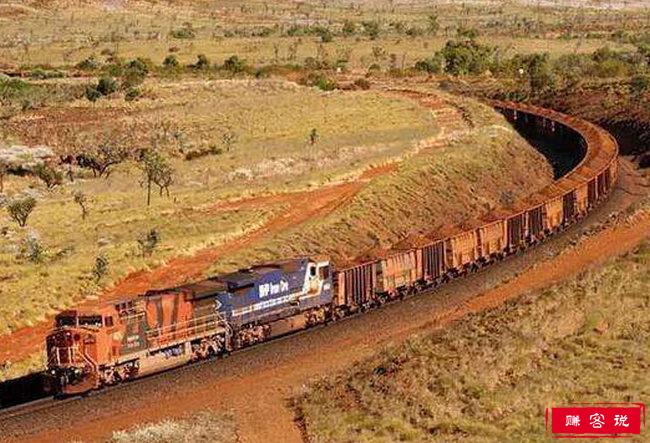 世界上最长的火车 这辆巨型火车682节的车厢长达7353米