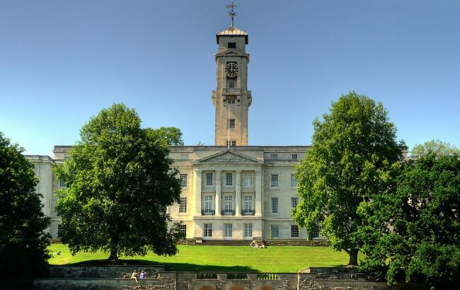 2018年英国诺丁汉大学世界排名 留学费用