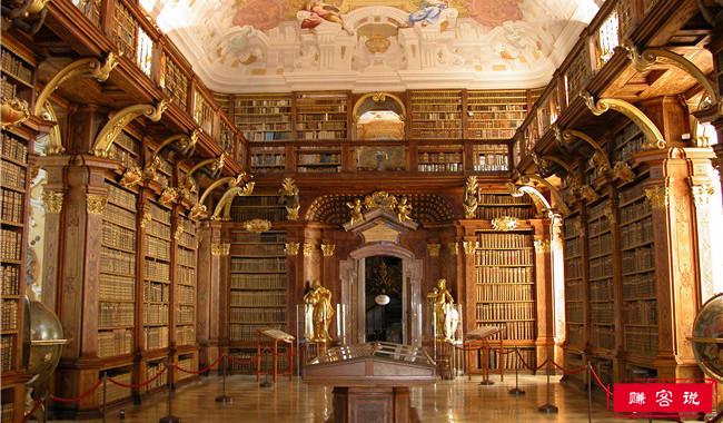 世界十大美丽的图书馆 让你进去就不想出来