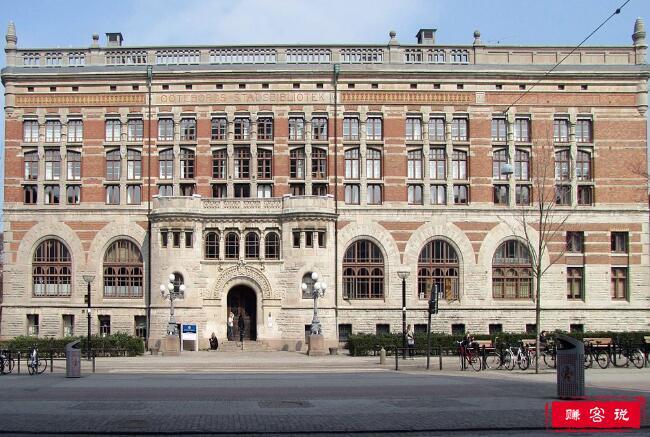 2018年瑞典哥德堡大学世界排名 留学费用